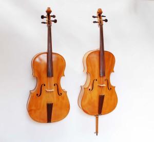 baroque cello and classical cello