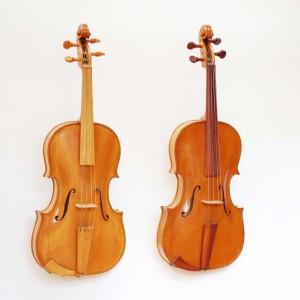 baroque viola and classical viola